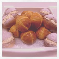 Devonshire splits and hot cross buns