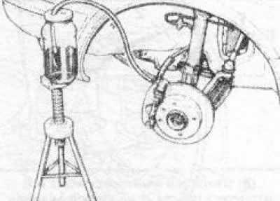 Прокачка тормозной системы на Opel Vectra С