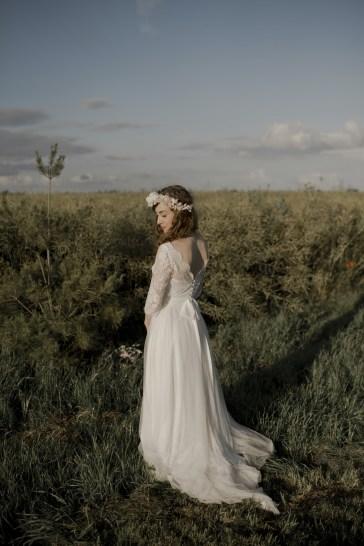 Headband mariée Blanc Suaveg