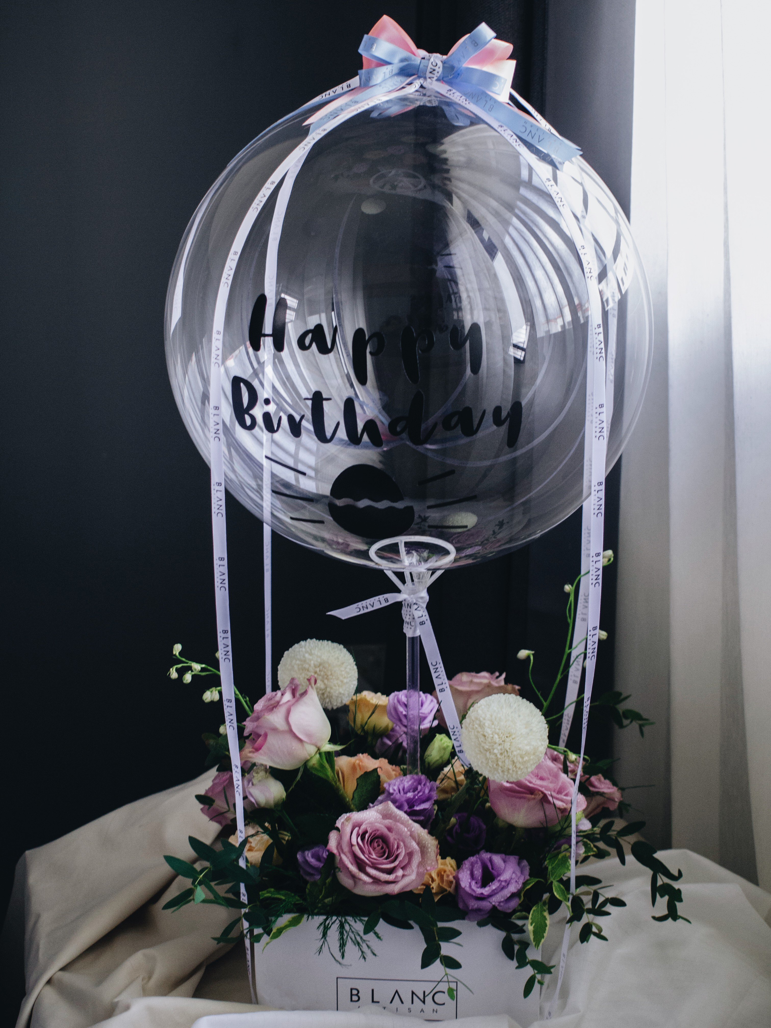 Hot Air Balloon Flower Box Delivery Singapore 24 Hours Online Flower