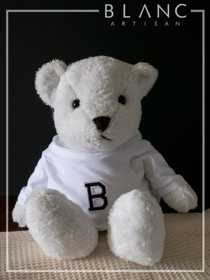 🐰 SUGAR TEDDY - WHITE BEAR DOLL | 2019 COLLECTION | BLANC COTTAGE