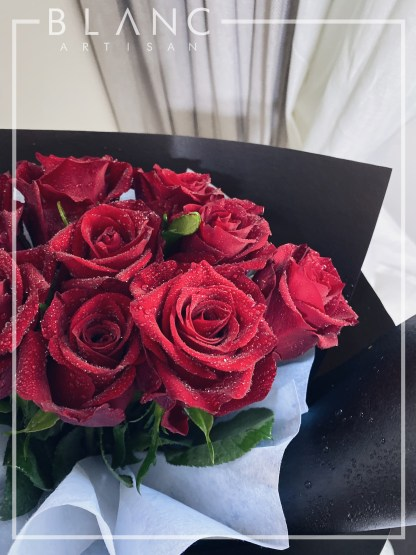 RED ROSES PROPOSAL BOUQUET DELIVERY