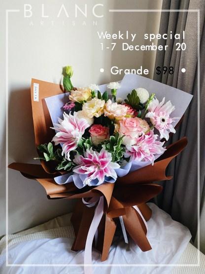 1-7 DECEMBER - GRANDE BOUQUET