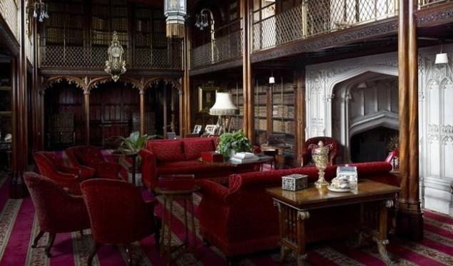 La Biblioteca de Arundel Castle, la más bonita que he visto en mi vida