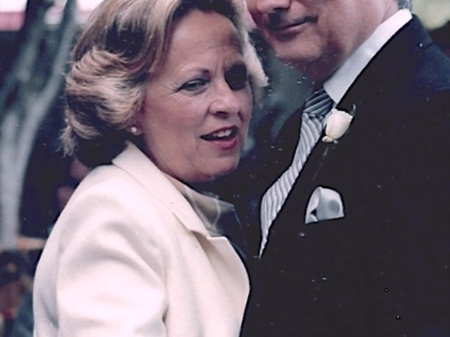 Blanche & Bill dancing, one of their favorite things to do