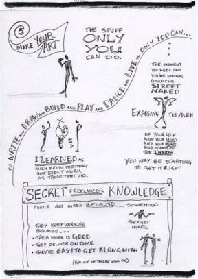 Neil Gaiman Speech - 'Make Good Art' - Sketchnotes 4