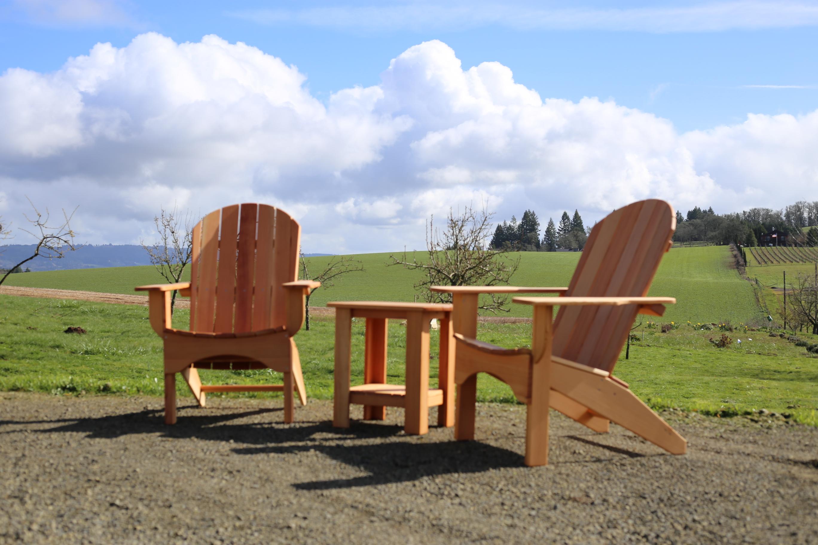 adirondack chairs portland oregon extra big folding chair farwest trade show blanchet house