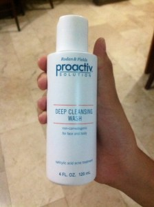 deep cleansing wash