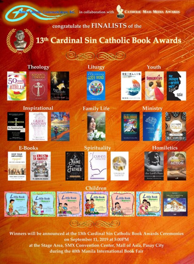 13th Cardinal Sin Catholic Book Awards Winner (Family Category)