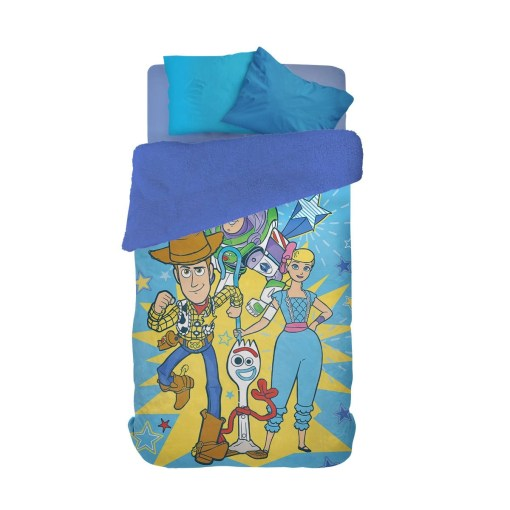 Frazada Flannel Pinata Toy Story 4 Corderito