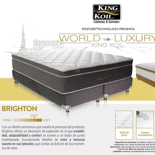 Colchon King Koil Brighton