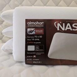 Almohada inteligente nasa almohar