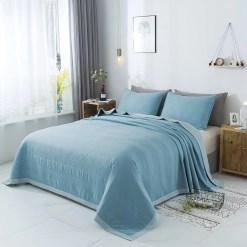 Cobertor turquesa