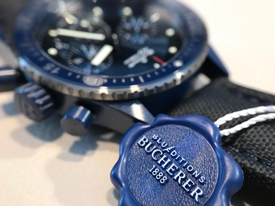 Blancpain Bathyscaphe Bucherer Blue Edition