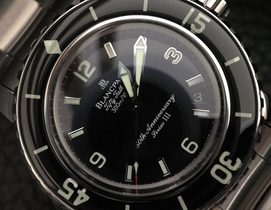 Flashback The 2003 Fifty Fathoms 50th Anniversary Blancpain Blog