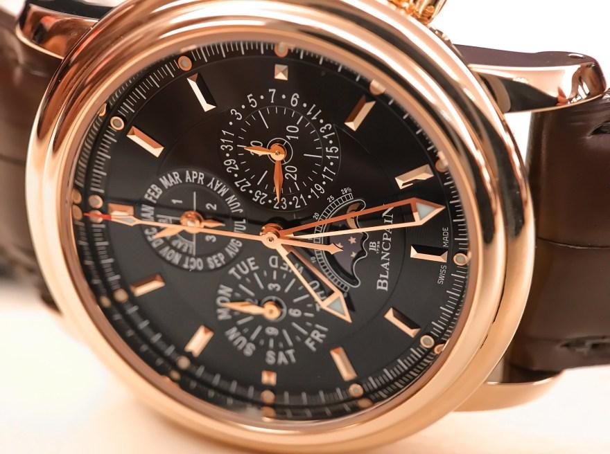 Leman Flyback Chronographe Quantieme Perpetuel