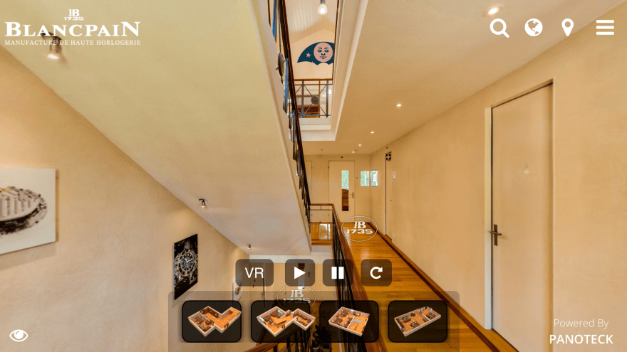 Blancpain Virtual Tour
