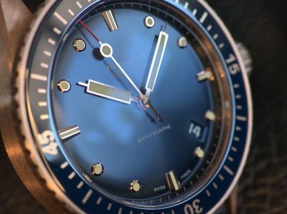 Bathyscaphe Sedna blue