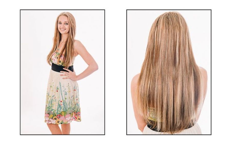 Bournemouth Dorset Portrait Photography of Hair Extensions For Mobile Hair Extensions UK