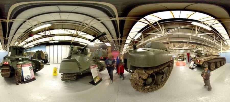 tank museum panoramic image 1