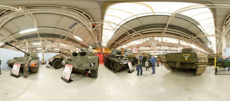 tank museum panoramic image 2