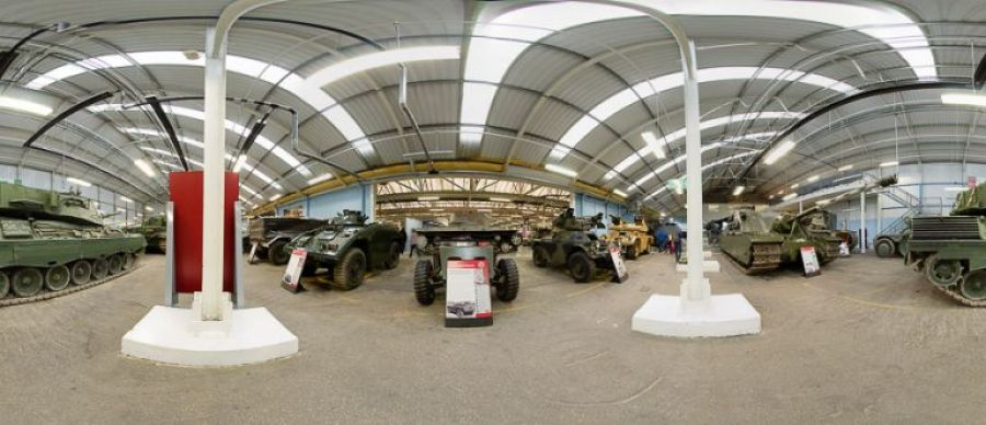 tank museum panoramic image 4