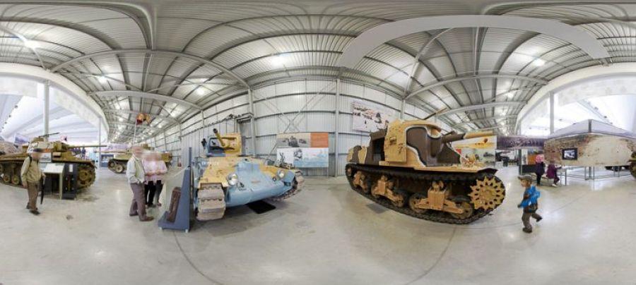 tank museum panoramic image 5