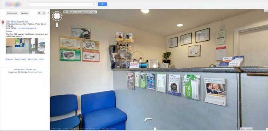 google business photography panorama