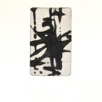 instant 35#3, édition de 4, carborundum sur papier BFK Rives 270g, 20x30 cm, blandine galtier ©