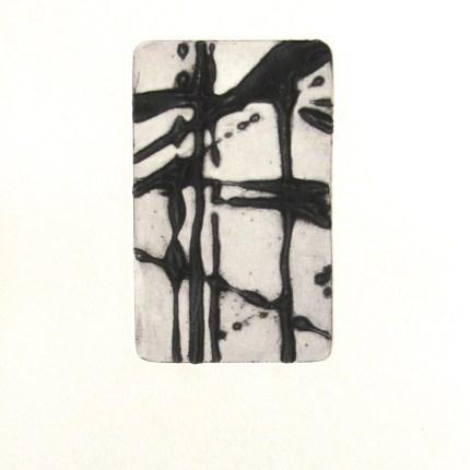 instant 35#5, édition de 4, carborundum sur papier BFK Rives 270g, 20x30 cm, blandine galtier ©