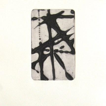 instant 35#8, édition de 4, carborundum sur papier BFK Rives 270g, 20x30 cm, blandine galtier ©