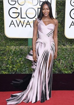 Naomi Campbell, Atelier Versace gown