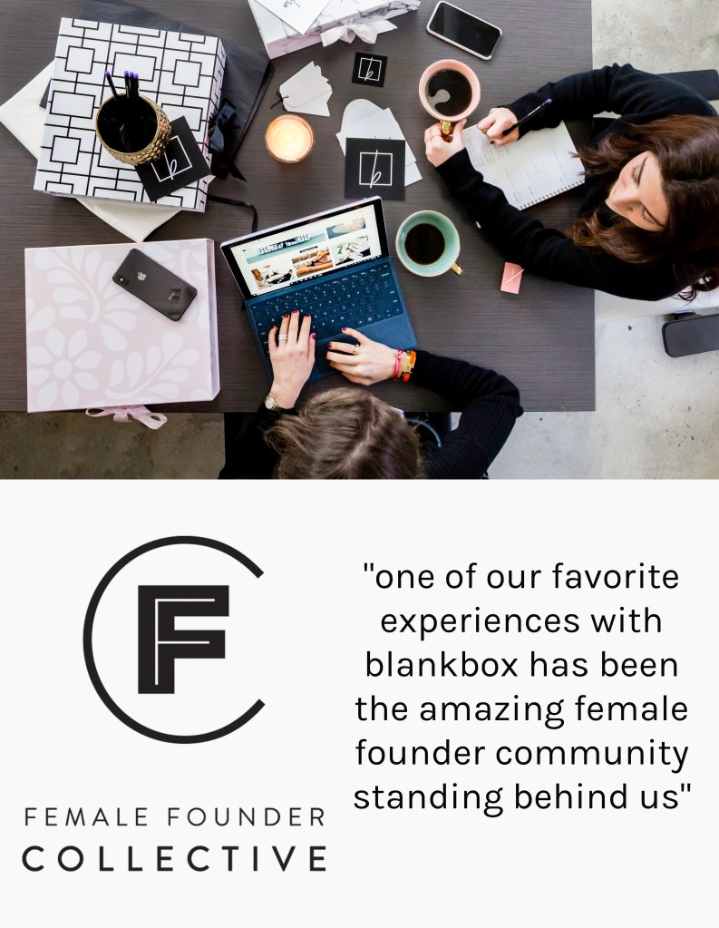 female founder collective member blankbox