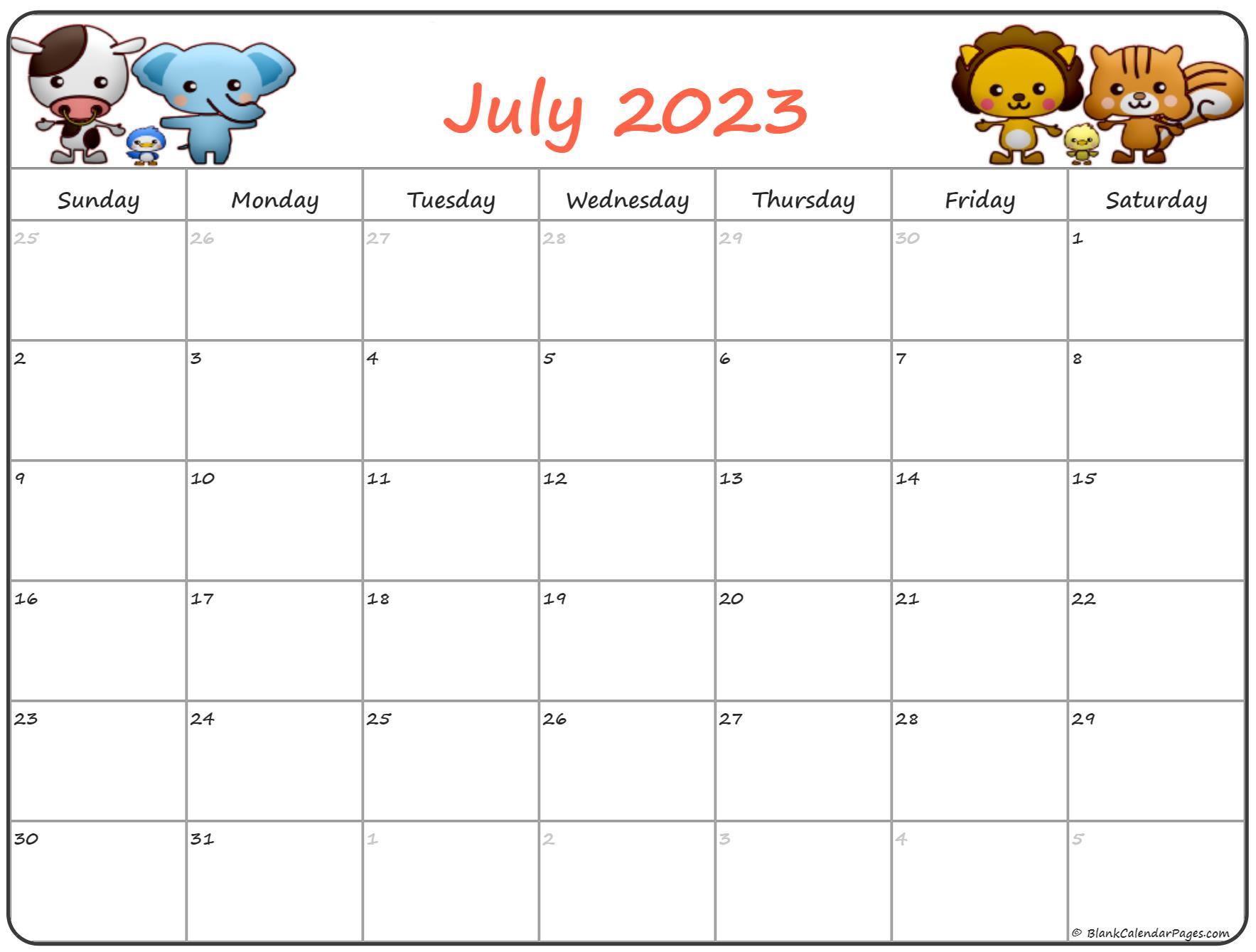 July 2022 Pregnancy Calendar | Fertility Calendar