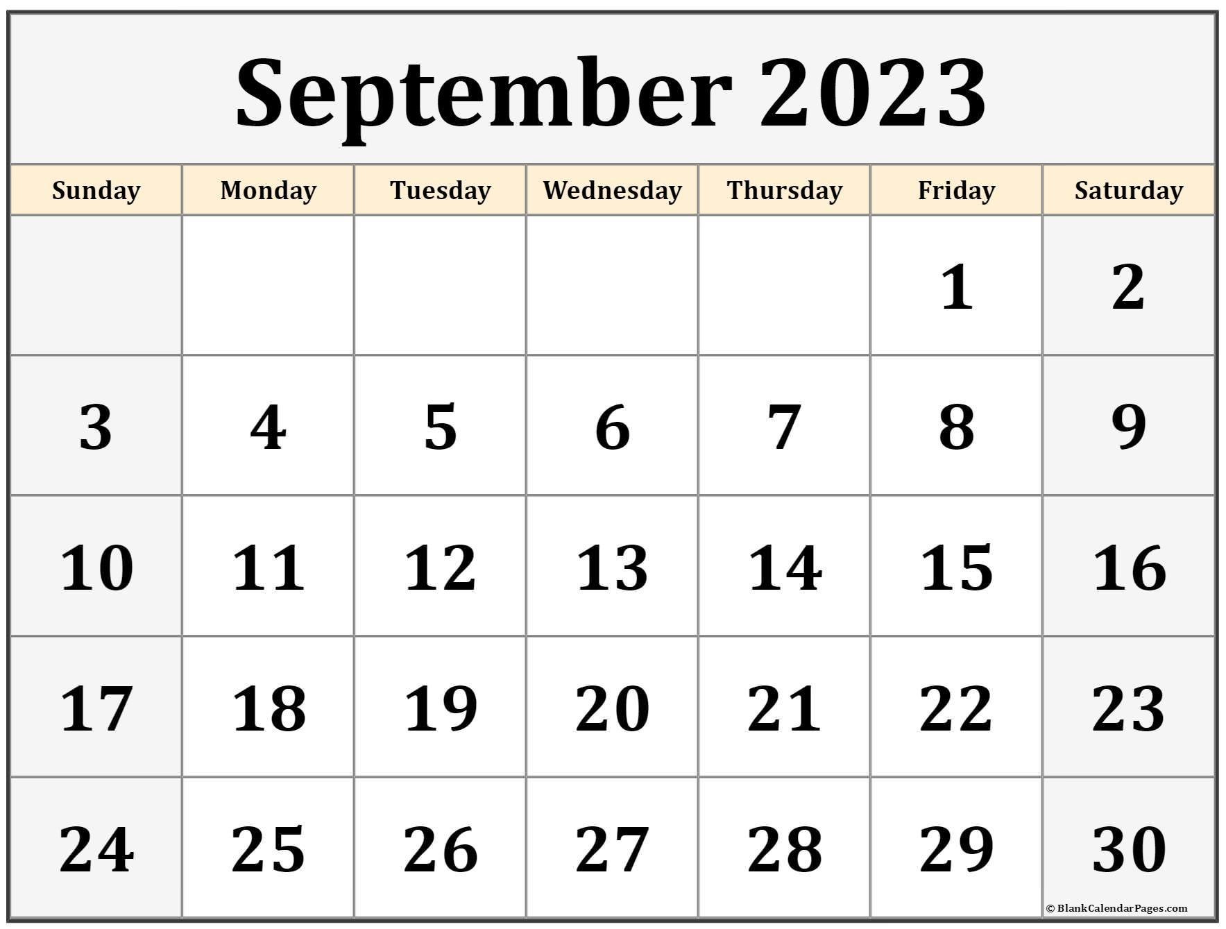 September 2022 calendar   free printable monthly calendars