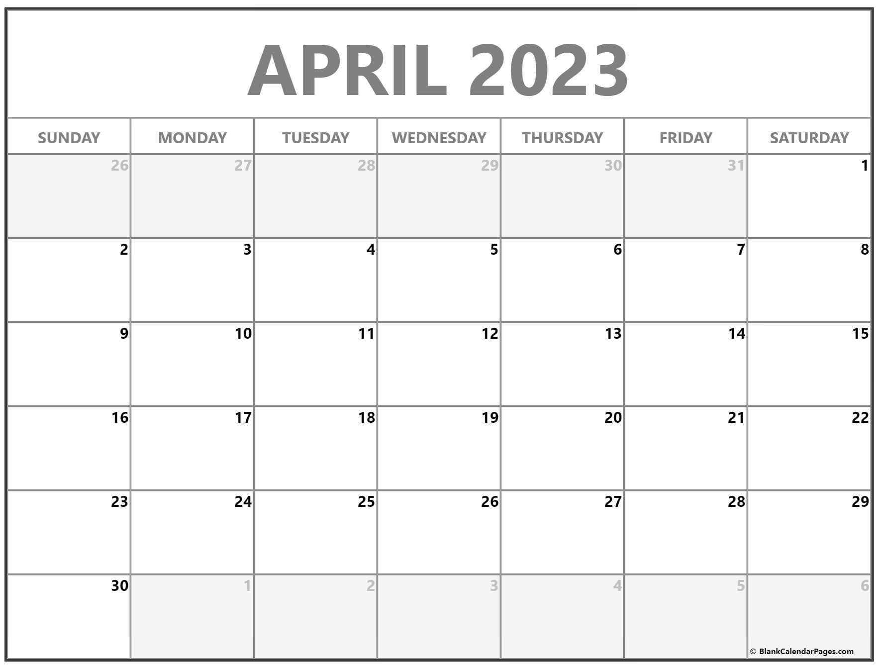 April 2022 calendar   free printable monthly calendars