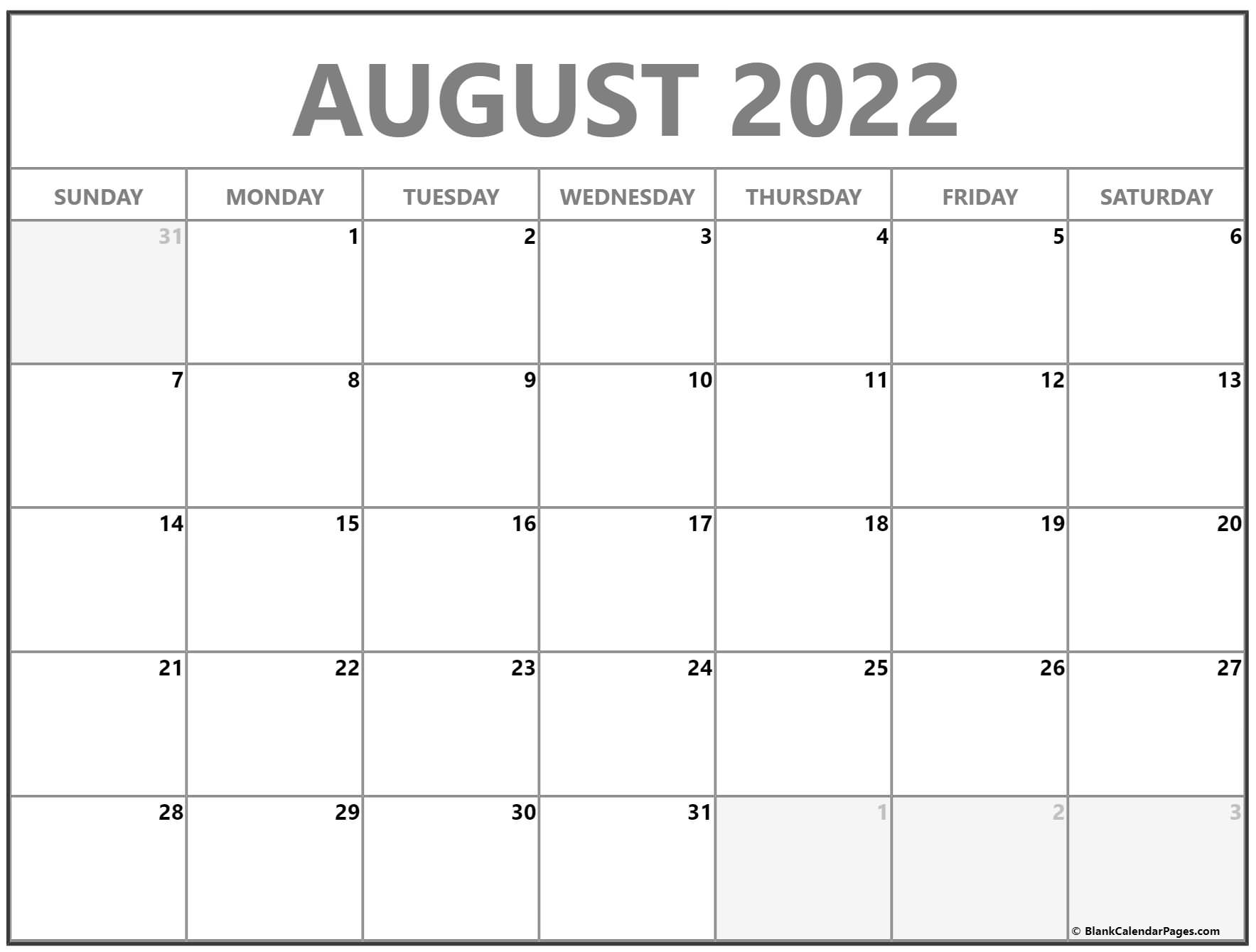 August 2022 calendar | free printable monthly calendars