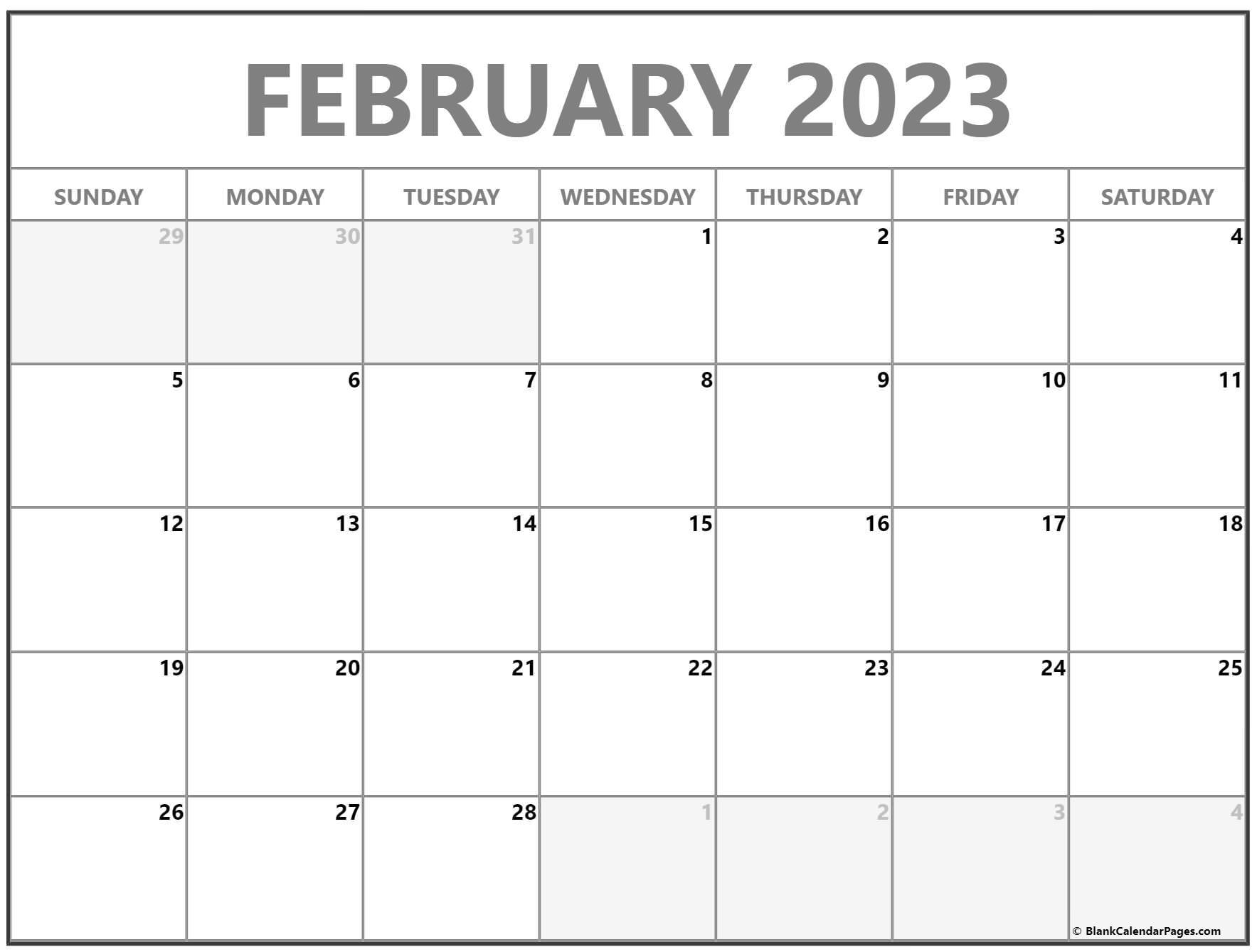 February 2022 calendar | free printable monthly calendars