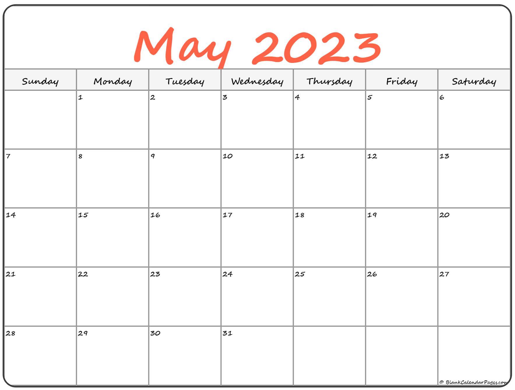 May 2022 calendar   free printable monthly calendars