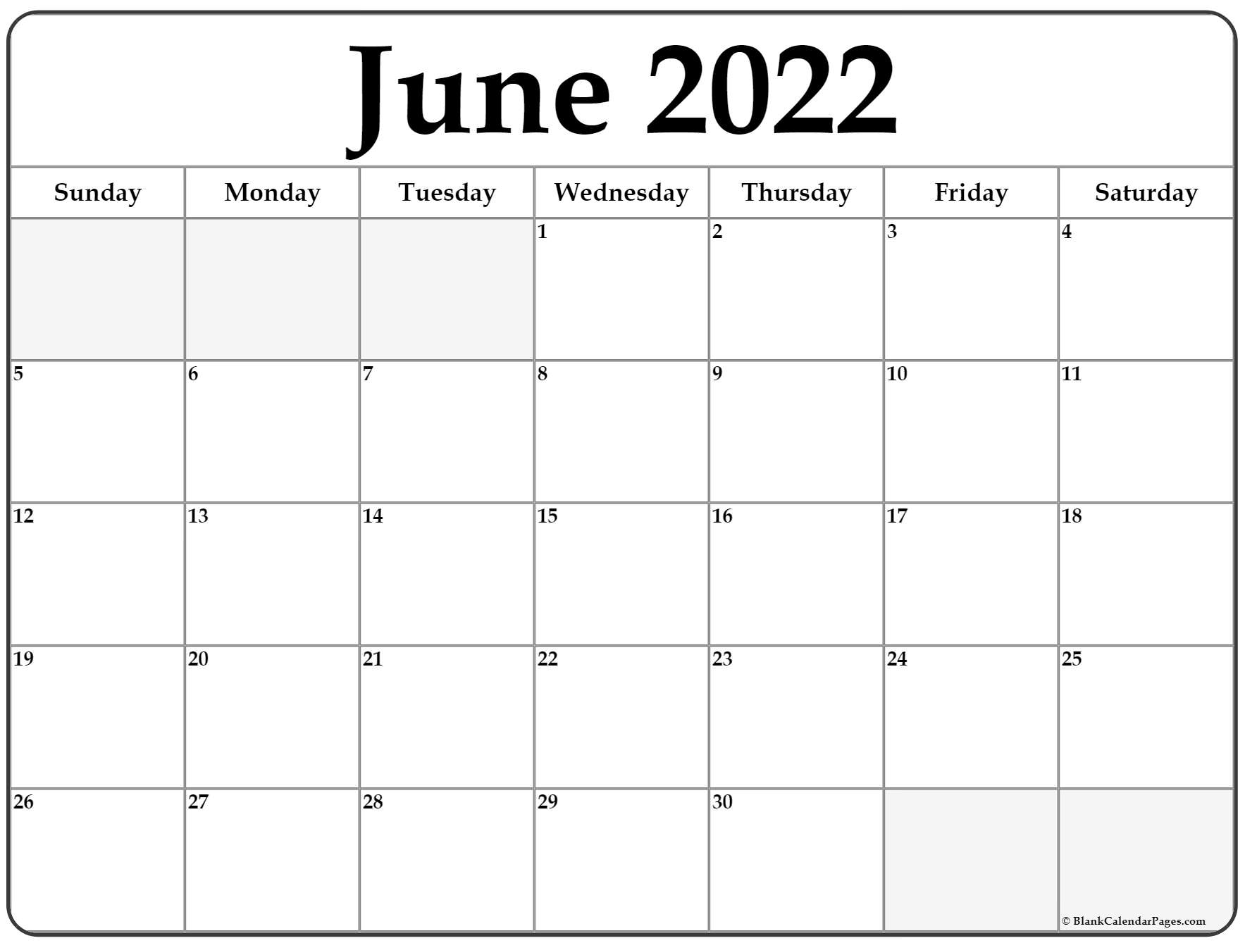 June 2022 calendar | free printable monthly calendars