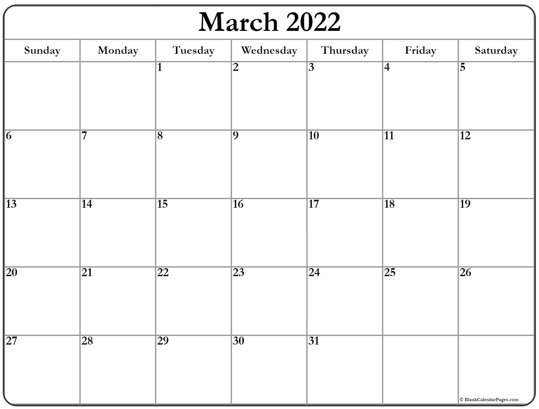 Paste the following code to your site or blog to share printable march calendar 2022 with holidays. March 2022 calendar | free printable calendar templates