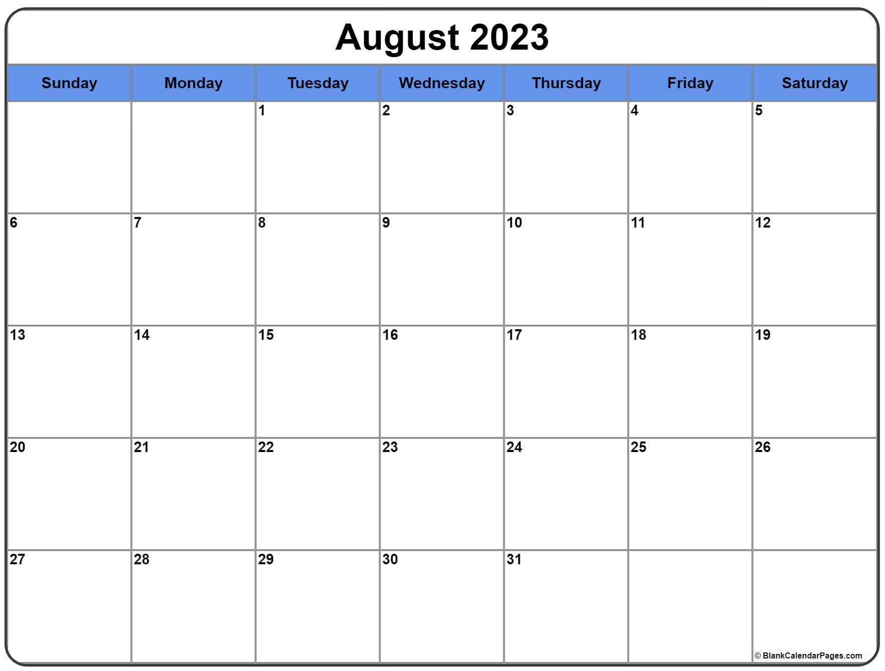 August 2022 calendar   free printable monthly calendars