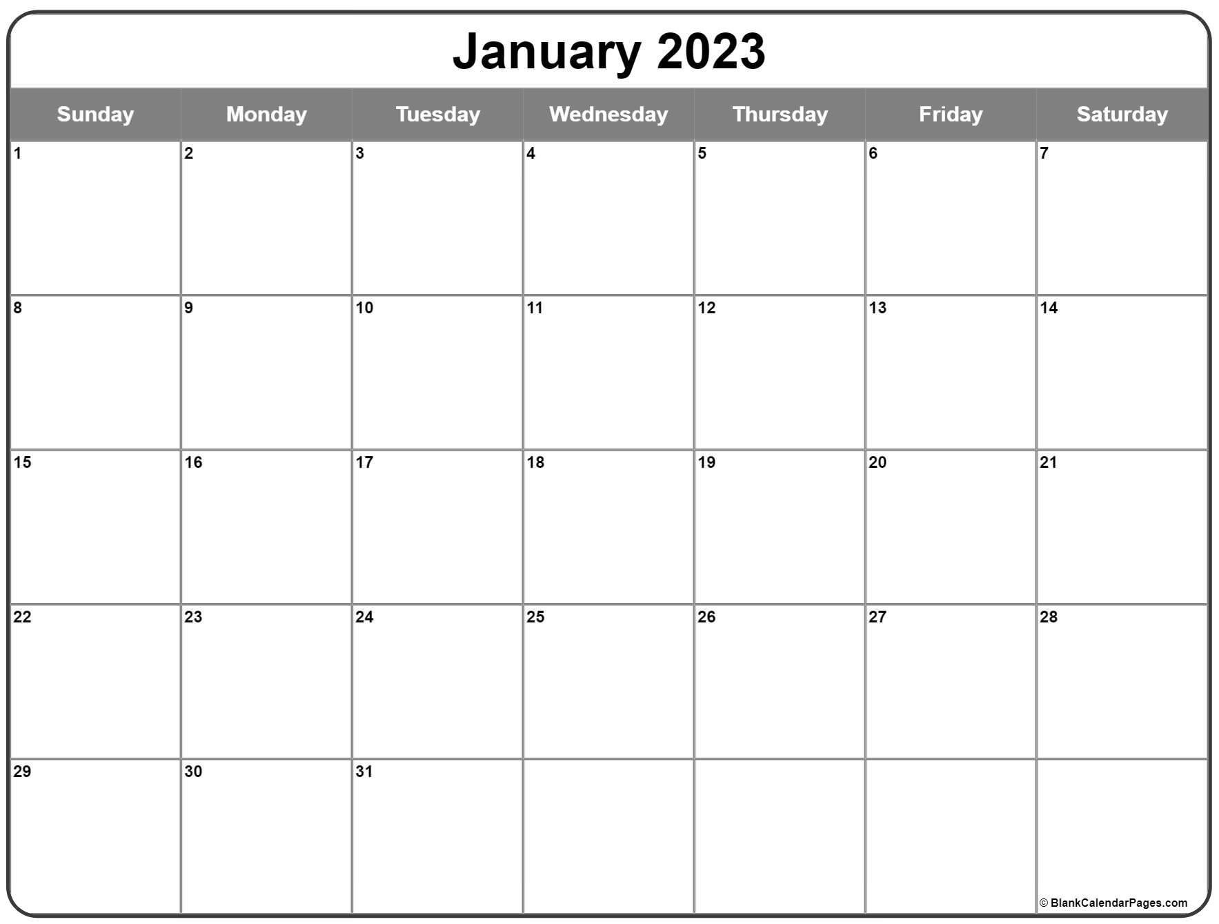 January 2022 calendar   free printable monthly calendars