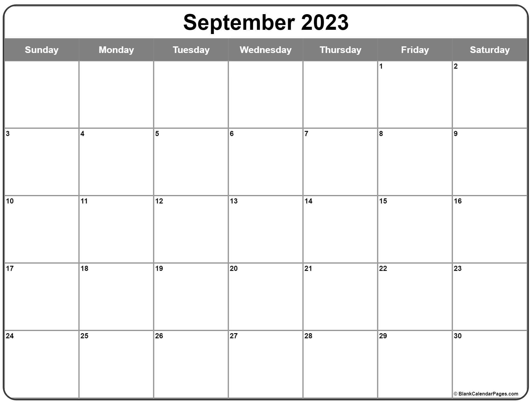 September 2022 calendar   free printable calendar templates