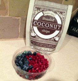 Berries and Coconut