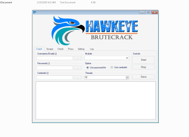 Hawk Eye BruteCrack -Cracked