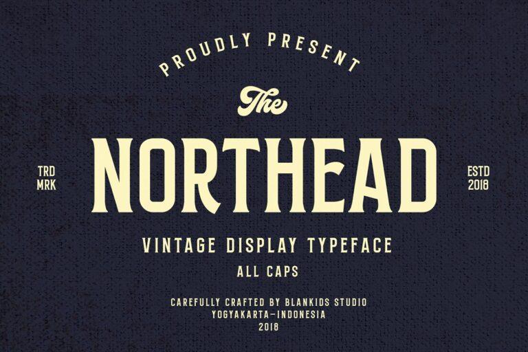Northead - Vintage Serif Fonts