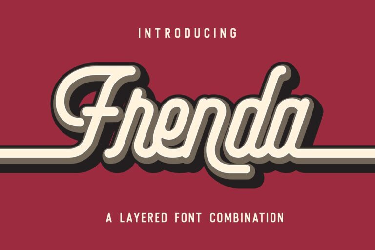 Preview image of Frenda Font