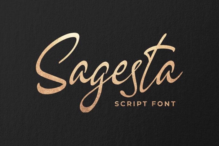 Sagesta - Luxury Handwritten Font