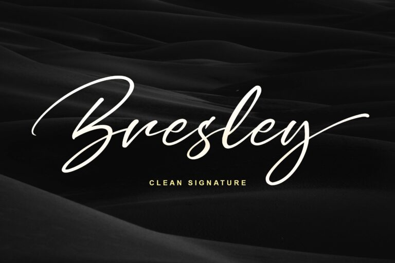 Bresley Font